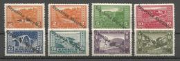 Albanien Albania Albanie Mi.118/25 Complete Set MLH / * 1925 Republik - Albanie