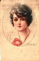 Illustrateur Mauzan - Portrait Femme 78-6 - Mauzan, L.A.