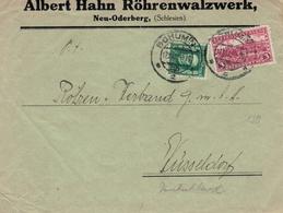 Albert Hahn Röhrenwalzwerk Neu-Oderberg Schlesien - Bohumin Masaryk Prager Burg Hrad - Czechoslovakia