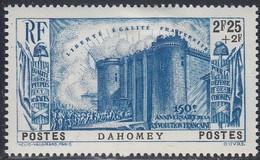 Dahomey, Scott #B7, Mint Hinged, French Revolution, Issued 1939 - Dahomey (1899-1944)
