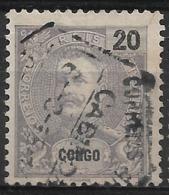 Portuguese Congo – 1898 King Carlos 20 Réis - Congo Portugais