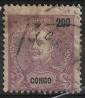 Portuguese Congo – 1898 King Carlos 200 Réis - Congo Portugais