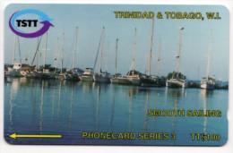 TRINIDAD & TOBAGO CARAIBES MV Cards T&T-205A Smooth Sailing 100$ CN 205CTTA - Trinidad En Tobago