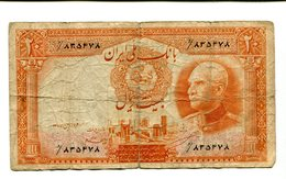 IRAN 20 RIALS 1938 3.25 - Iraq