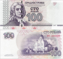 Transnistria 2007 - 100 Rublei - Pick 47 UNC - Banknotes