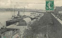 """/ CPA FRANCE 35 """"Saint Malo, Le Remparts Et Les Quais"""" / PRECURSEUR, Avant 1900 - Saint Malo"""