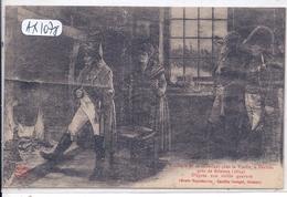 PERTHES-LES-BRIENNE- NAPOLEON SE CHAUFFANT CHEZ LA VIEILLE- 1814- D APRES UNE GRAVURE - Autres Communes