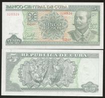 Cuba 5 Pesos 2017 Pick 116 UNC - Cuba