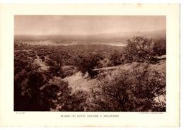 Fiche Pédagogique Année 1933 Maroc Plaine De Sous Savane à Arganiers Cliché Service Forestier Maroc - Geografia