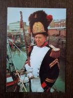 L27/510  Dunkerque . Jean Minne,Tambour Major De La Vissersbende De Dunkerque Depuis 1958 - Dunkerque