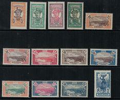 France // Martinique // 1922-1925 // Types De 1908 MH* Série   Y&T 92-104 - Nuovi