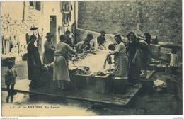 CPA 06 ANTIBES Le Lavoir Peu Courante - Autres