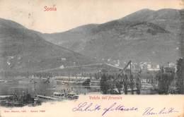 """M09099 """"SPEZIA-VEDUTA DELL'ARSENALE"""" - CART. ORIG.  SPED.1908 - La Spezia"""