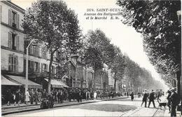 SAINT OUEN : AVENUE DES BATIGNOLES - Saint Ouen
