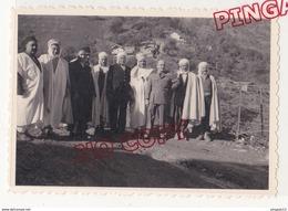 Au Plus Rapide Guerre D'Algérie Archive Militaire 2/57 è RI Infanterie Aokas Notable Voeux Commandant Excellent état - Krieg, Militär