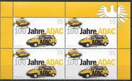 2003  Allem Fed  Deutschland . Mi. 2340 ** MNH  100 Jahre Allgemeiner Deutscher Automobil-Club (ADAC) - [7] Repubblica Federale