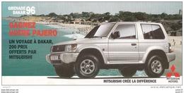 Dépliant Mitsubishi Pajero, 1996 - Publicités