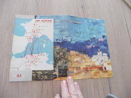 Protège Cahier Pub Publicité Air Algérie Caravelle + La Pléiade - Stationery
