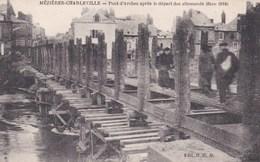 Mézières - Le Pont D'Arches Après Le Départ Des Allemands 1918 - Non Classificati