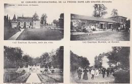 33 - LEOGNAN - Château Olivier. XIème Congrès International Presse Dans Les Graves - Other Municipalities