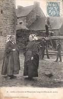 22 - Coiffes Et Costumes De Plouguenast, Langast... Scieurs De Long Animée 1907 (prix Fixe) - France