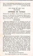 Nazareth, Sint-Amandsberg, 1950, Arthur De Noble, Willems - Images Religieuses