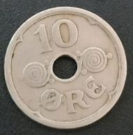 DANEMARK - DENMARK - 10 ORE 1925 - Christian X - KM 822 - Danemark