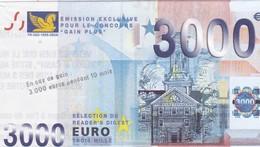 Billet Fictif 3000 €  Reader's  Digest - Specimen
