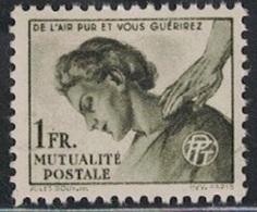 TIMBRE DE BIENFAISANCE DES PTT - N°42 - NEUF AVEC GOMME SANS TRACE DE CHARNIERE. - Autres