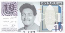 Billet Fictif  10 Nanard 1995  U C A R  - Revin - Neuf - Specimen