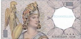 Billet Fictif Echantillon 1250  Neuf - Specimen