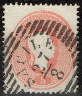 Autriche - 1861 - Y&T 19 -  MI 20 Oblitéré Sapile ? - Oblitérés