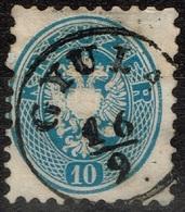 Autriche - 1863 - Y&T 30 -  MI 33 Oblitéré Gyula - Oblitérés
