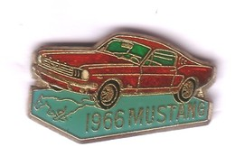 V391 Pin's FORD MUSTANG CHEVAL Version Rouge Rare Achat Immédiat - Ford