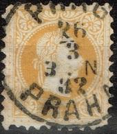 Autriche - 1867 - Y&T 32 A -  MI 35 II, Oblitéré Prag - Praha - Oblitérés