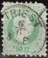 Autriche - 1867 - Y&T 33 A -  MI 36 II, Oblitéré Triest - Oblitérés