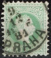 Autriche - 1867 - Y&T 33 A -  MI 36 II, Oblitéré Praha - Oblitérés