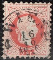 Autriche - 1867 - Y&T 34 A -  MI 37 II, Oblitéré Wien - Oblitérés