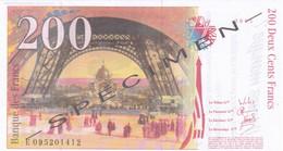 Billet Fictif - 200 €  Specimen - Neuf - Specimen
