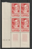 FRANCE - YT N° 926 X 4 Cdf - Neufs ** - MNH - Unused Stamps