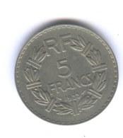 FRANCE -  5 FRANCS 1933 - LAVRILLIER - France