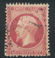 N°24  NUANCE ET OBLITERATION - 1862 Napoléon III.