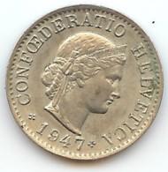 SUISSE - 5 RAPPEN 1947 - Suisse