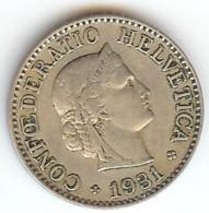 SUISSE - 10 RAPPEN 1931 - Suisse