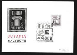 Austria Cover 1966 Salzburg Juvavia (G90-50) - Philatelic Exhibitions