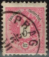 Autriche - 1883 - Y&T 42 - MI 46, Oblitéré Prag - Oblitérés