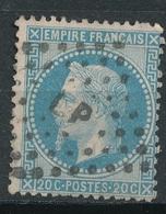 N°29  NUANCE ET OBLITERATION25 - 1863-1870 Napoléon III. Laure