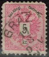 Autriche - 1883 - Y&T 42 - MI 46, Oblitéré Graz - Oblitérés
