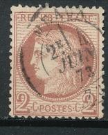 N°51  NUANCE ET OBLITERATION25 - 1871-1875 Cérès