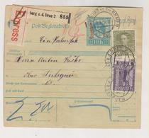 SLOVENIA,Austria 1916  MARBURG MARIBOR Parcel Card - Slovénie
